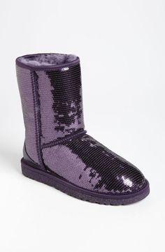 Purple, Sparkle UGG Australia Boots