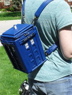 Tardis Backpack Doctor Who by MadBoyWithBox on Etsy, $180.00