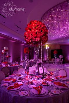 The Ritz Carlton Fort Lauderdale party lighting