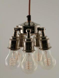 Image of MARIA | steampunk | pendant light | RETRO SILVER