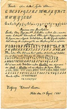 Little is known about the origins of the Runic alphabet, which is traditionally known as futhark after the first six letters. In Old Norse the word rune means 'letter', 'text' or 'inscription'. The word also means 'mystery' or 'secret' in Old Germanic languages and runes had a important role in ritual and magic.