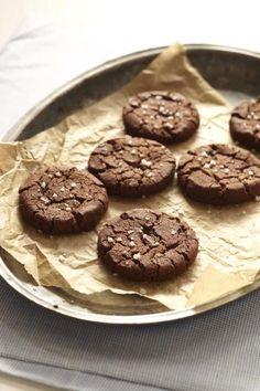 Sweet & Salted Chocolate Cookies