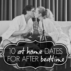 Daily Mom » Ten At Home Dates for After Bedtime
