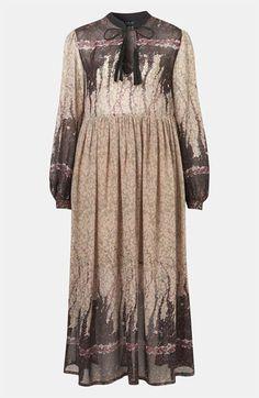 Topshop 'Black Meadow' Print Midi Dress #Nordstrom  http://rover.ebay.com/rover/1/710-53481-19255-0/1?ff3=4&pub=5575067380&toolid=10001&campid=5337425061&customid=&mpre=http%3A%2F%2Fwww.ebay.co.uk%2Fsch%2FDresses-%2F63861%2Fi.html%3F_dcat%3D63861%26Brand%3DTopShop%26rt%3Dnc%26LH_BIN%3D1