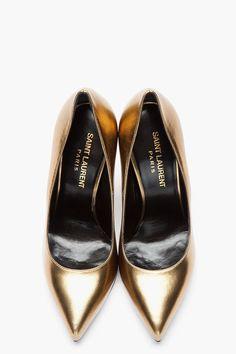 Golden steps.