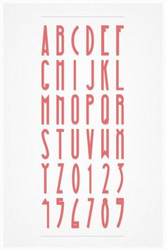 MAGNA Typeface by Hendrick Rolandez, via Behance
