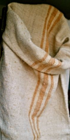 gorgeous hemp grain sack