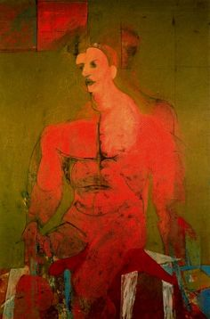 Seated figure (classical male) 1939 Willem de Kooning