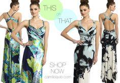 Camille La Vie Multicolor Prom Dresses