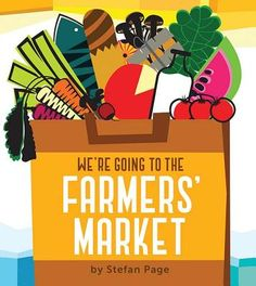 readertotz: Poetry Friday: WE'RE GOING TO THE FARMERS' MARKET (Picture book poem) farmer market, book worth, amazon board, farmers market, art, board book, picture books, farmersmarket, book poem
