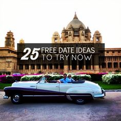 25 Free Date Ideas That Don't Suck