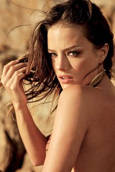 South African model Jessica Lee Buchanan