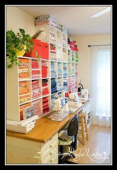 Now that's a Sewing room!
