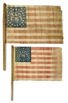 35-Star Parade Flags.