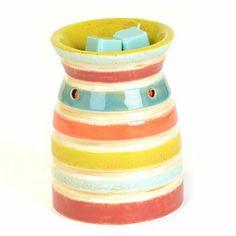 Color Striped Wax Warmer