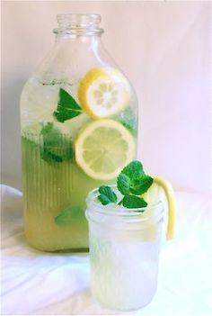 lemonade on a hot day