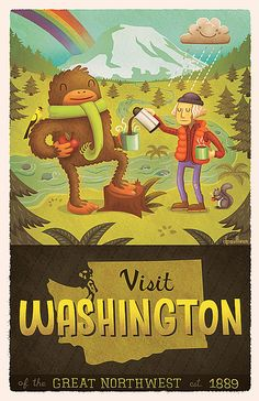 Washington State by dpsullivan