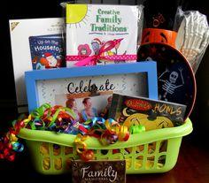 Family Memories Gift Basket