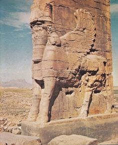 """Sphinx...Persepolis Destroyed by Alexander during a drunken rage! Cause of him being known still as the """"Great Vandal."""""""