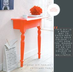 craft, entry tables, front doors, end tables, bedside tables, happy weekend, entryway, console tables, diy projects