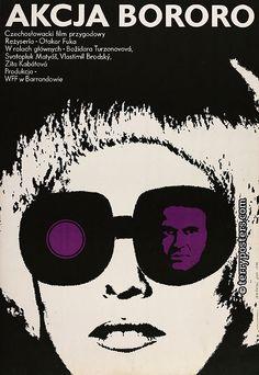Lech  Majewski,1973  polish film poster