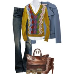 """""""Argyle (I)"""" by partywithgatsby on Polyvore"""
