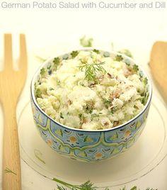 potato salads, german potato