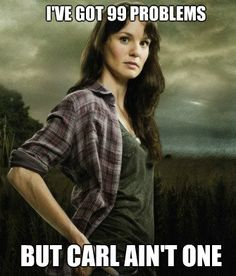 Thought this every time we watched Walking Dead this season. Every time!