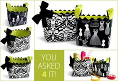 Step by Step instructions on how to make fabric storage boxes from www.sew4home.com