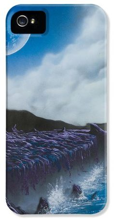 My wondrous travels spray painted on pinterest for Spray paint iphone case