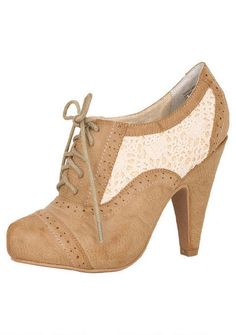 Not Rated Aristocrat booties. SO CUTE.