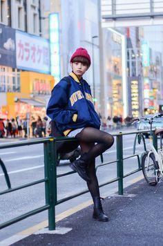 ストリートスナップ [佐々木 繭]   used, WEGO, ウィーゴー, ユーズド, 古着   原宿   Fashionsnap.com