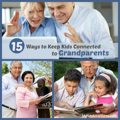 Want to help kids stay connected with their grandparents? Near or far, make the most of precious time together with easy ideas to help them ...