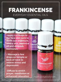 ENTER TO WIN! 1 Bottle of  Everyday Essential Oils: Frankincense | healthylivinghowto.com