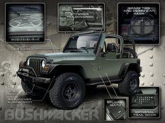 jeep wrangler tj build brc12