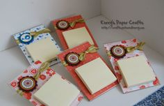 acrylic frame post its