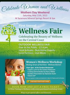 First Annual Wellness Fair   Saturday, May 11th 2013  We'd love to see you all there!