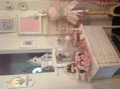 My shabby chic pink palace