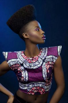 Fierce! #Africanfashion #AfricanClothing #Africanprints #Ethnicprints #Africangirls #africanTradition #BeautifulAfricanGirls #AfricanStyle #AfricanBeads #Gele #Kente #Ankara #Nigerianfashion #Ghanaianfashion #Kenyanfashion #Burundifashion #senegalesefashion #Swahilifashion DK