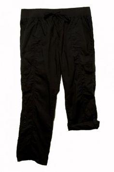 Plus Two Length Poplin Cargo Pocket Pants