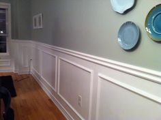Just beachy: transformation with wainscoting