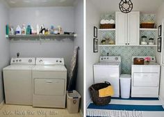 Laundry room transformation inspiration
