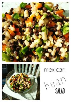 delicious cold mexican bean salad for summer