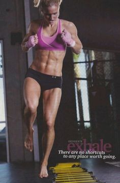 From oxygen magazine.....beautiful, strong, fit.