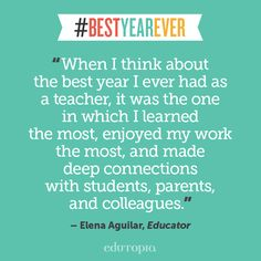 Some teacher-tested tips to help you prepare for your #BestYearEver.