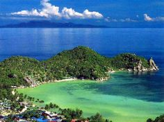 Beautiful Koh Tao (Turtle Island) in the Gulf of Thailand, not far from Koh Samui