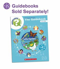 Have a great classroom library but looking for Common Core–aligned lesson plans? Our Knowledge Quest! guidebooks are full of robust activities, vocabulary lists, and teaching ideas.