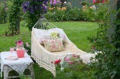 Shabby Chic Hammock | Home Decor | Backyard