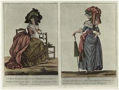 Fashion Plate | c. 1790