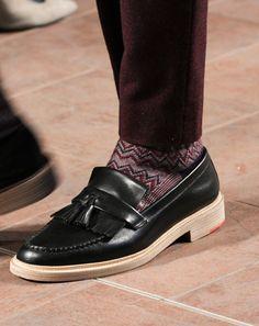 Mens Fall 2012 Fashion Week Fall 2012 Shoes: Fashion Shows: GQ